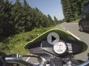 Harz: vom Torfhaus Richtung Altenau mit Speed Triple 955i
