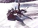 Hat es draussen Schnee und Eis - fahr kein Motorrad - lass den Scheiß ...