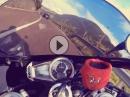 Hausbergrunde nahe Bozen mit Daytona 675