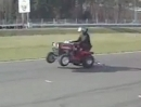 Hayabusa Traktor - geht auch als Rasenmäher, man gönnt sich ja sonst nix