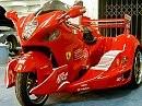 Hayabusa Trike Ferrari F1 Style - ob da Teil auch fährt?