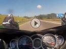 Hayabusa vs. ZX14 - Vollgas Spielchen bei 280km/h - Speedsäue