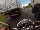 Heftig: Brasilianisches Roulette oder Spacken auf zwei Rädern
