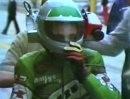 Actioncam anno 1981 - Toni Mang mit filigraner Cam für TV Übetragung
