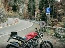 Herbstliche Mopedtour zum Kesselberg (Bayern) mit Ducati Monster