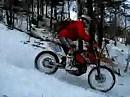 High Wall - Enduro im Schnee.