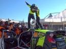 Highlights Monza Rally Show 2017 - Rossi gewinnt zum sechsten Mal