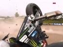 Highspeed Crash: Laverty Yamaha Kernschrott, Kameramann im Glück BSB Oulton Park