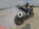 Highspeed Drift, Gymkhana, Wheelie - gekonnt aber grenzwertig - Amazing