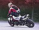 "Highspeed Motorradstunt: Rafal Pasierbek ""Stunter13"" - Hut ab - geil!"