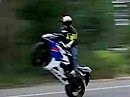 Highspeed Powerwheelie Suzuki GSX-R