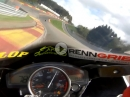 Spa Francorchamps, Highspeed Racetrack.Trackday mit Murtanio