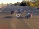 Highway Wheelie Crash: Wird beim wheelen Scheiss gebaut, es dich auf die Schnauze haut