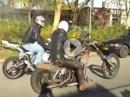 Hildos Harley Ratbike Chopper vs. Honda CBR1000RR - dreimal übel abgeledert!
