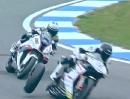Hinterrad gebrochen = Crash: Maxime Berger (Ducati) Donington