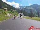 Hochtannbergpass - 3loody Ausritt Street Triple, Ducati 848 SC Project Sound