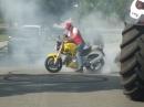 Hochzeits Donuts Burnout Ducati Monster