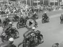 Hockenheim 1955, 500ccm Geoff Duke, Gilera gewinnt im Badischen