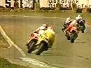 Hockenheim 1987 500ccm Motorrad-WM (deutsch) Freddie Spencer verletzt