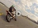 Hockenheim Supermoto Training im Fahrerlager - 26.03.16