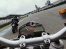Hockenheim GP onboard: Aprilia Tuono V4 factory / KTM 990 Superduke - ChainBrothers