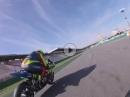 Florian Alt, Hockenheim, IDM Kurs onboard - Streckenerklärung Yamaha R1M