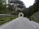 Höllental, Honda CBR1100XX Kameratest Rollei 410
