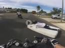 Hohlroller! Honda CBR600RR Matratzen Surfing
