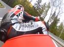 Hohnstein (ehem. Grossdeutschlandring) mit Yamaha R6 in zügig