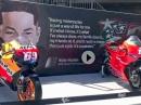 Hommage an Nicky Hayden beim MotoGP-Lauf in Mugello