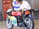 Honda RC166 (Sex) 6 Zylinder Warm up - Blut aus den Ohren - Yesss
