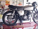 Honda CB 750 Winterarbeit - Probelauf