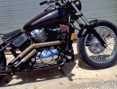 Honda 750 Shadow (2001) Hard-Tail Bobber von Bare Bone Rides