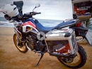 Honda Africa Twin Testride Motovlog Jens Kuck von Motolifestyle