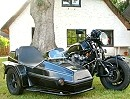 Honda Boldor CB 1100 F EML Gespann - kleine Hommage