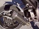 Honda CB 1000R mit Devil Auspuffanlage