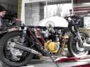 Honda CB 450 K Caferacer Soundcheck Mikuni Vergaser | PS-Treff