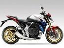 Honda CB1000R 2011 mit Tricolor-Design und goldenen Felgen