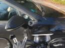 Honda CB125R Crash - Einschlag an Kreuzung ins Auto - Klassiker