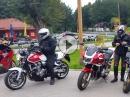 Honda CB1300 Stammtisch Ost Ausfahrt im Harz