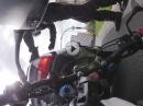 Honda CB500F Crash Verkehrsampel: Rückwärtsgang und umgenietet