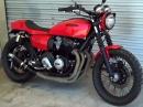 Honda CB750A Bj.: 1977 Custom Urban Brawler von Bare Bone Rides