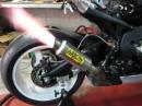 Honda CBR 1000RR 2009 mit Arrow GP2 Auspuffanlage Aufschrei