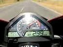 Honda CBR 1000RR Fireblade am Limit - Highspeedtest 2009