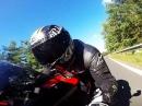 Honda CBR 1000RR gemütlich durch Leithagebirge