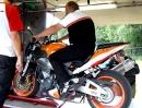 Honda CBR 900 RR Fireblade Leistungsprüfstand