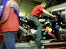 Honda CBR 900 RR Prüfstand - 'Freibrennen'