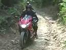 Honda CBR Extrem Enduro Test - Flacheisen können auch Gelände