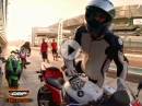 Honda CBR600RR beim Reifentest in Abu Dhabi - Jens Kuck | GRIP - BIKE-EDITION
