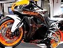 Honda CBR600RR Modell 2011 - Sonderlackierung Durchsicht-Optik als Special Edition